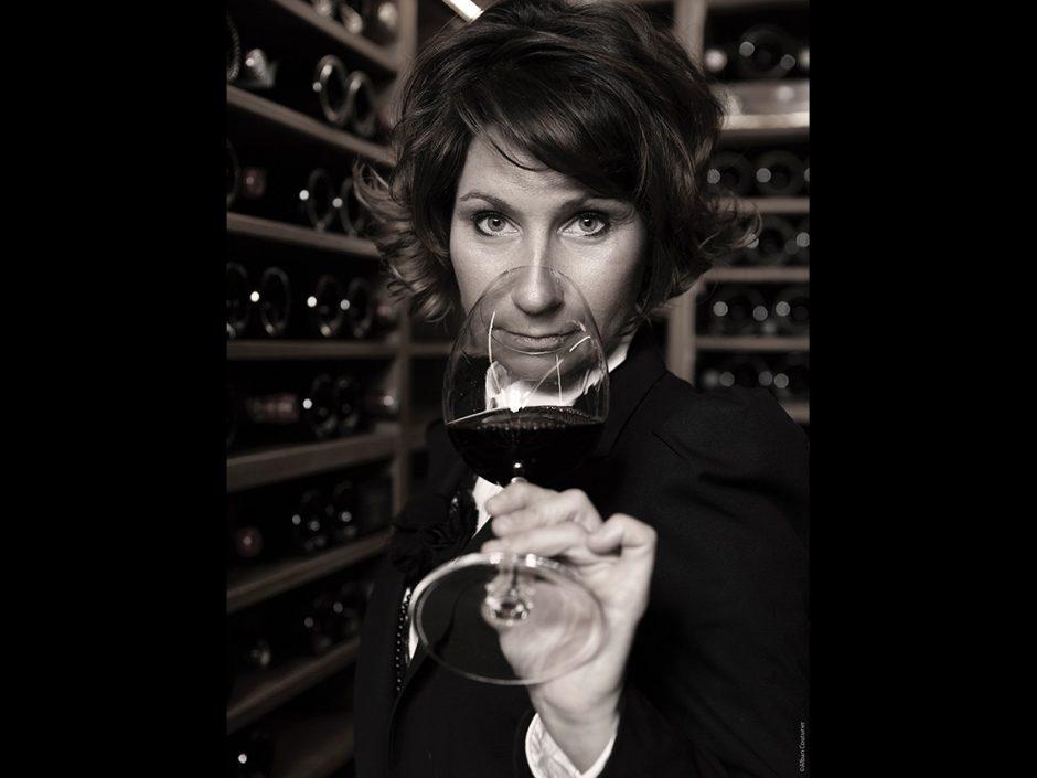 Estelle touzet, chef sommelliere du Ritz Paris ©Alban Couturier