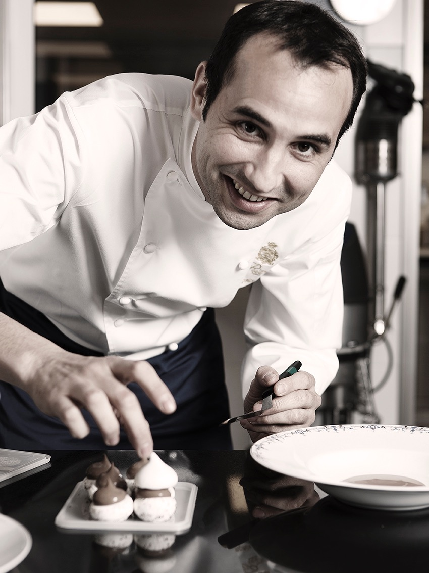 Portrait de Francois Perret, chef Patissier du Ritz Paris, ©Alban Couturier