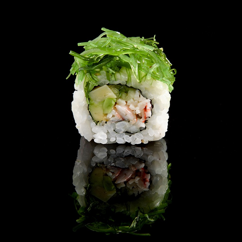 Sushi avocat wakame ©Alban Couturier