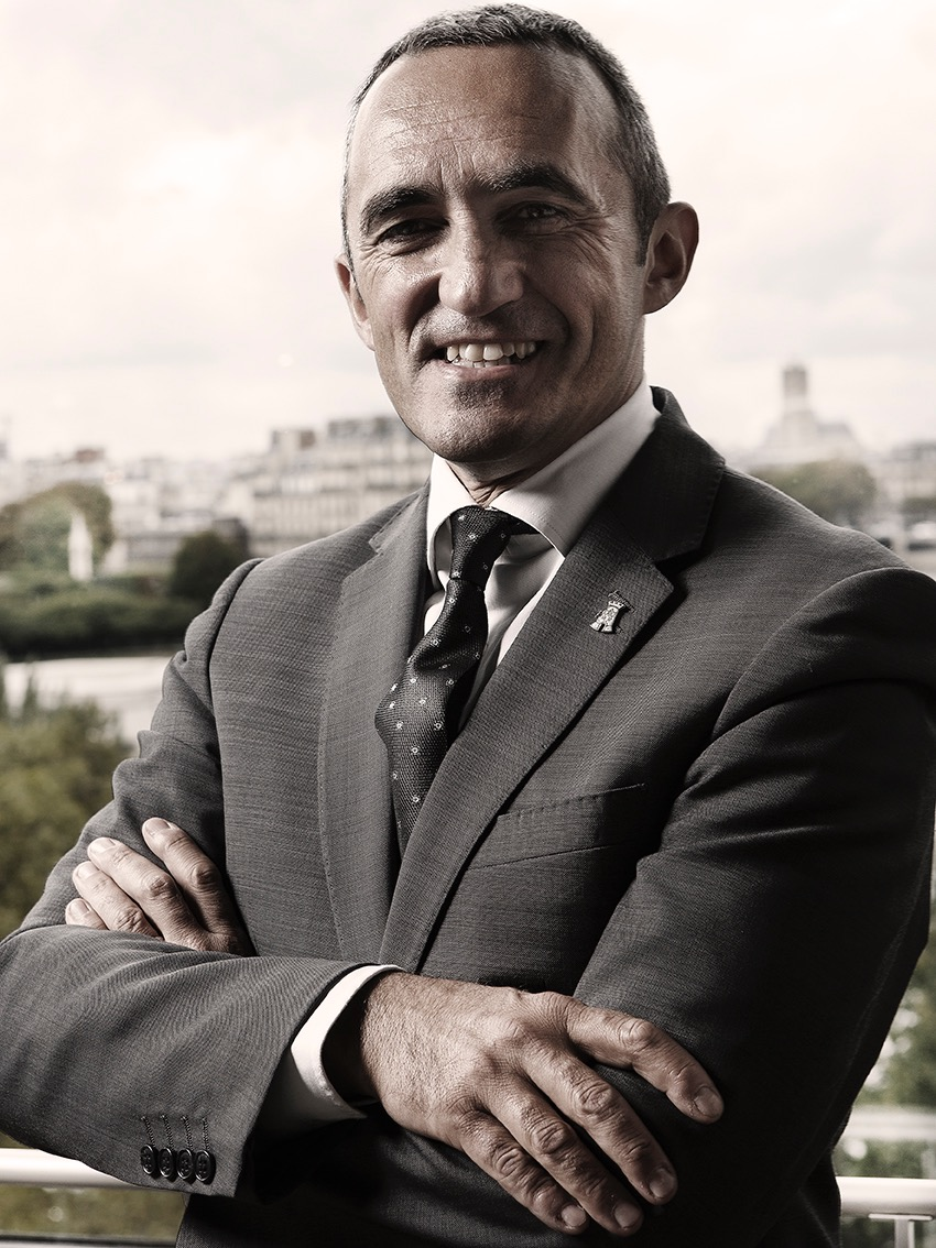 Portrait de Stephane Trapier, Directeur de salle du restaurant La tour d'Argent, Paris, 1 etoile au guide Michelin, ©Alban Couturier