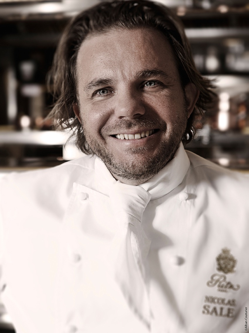 Nicolas sale, chef executif, Le Ritz Paris