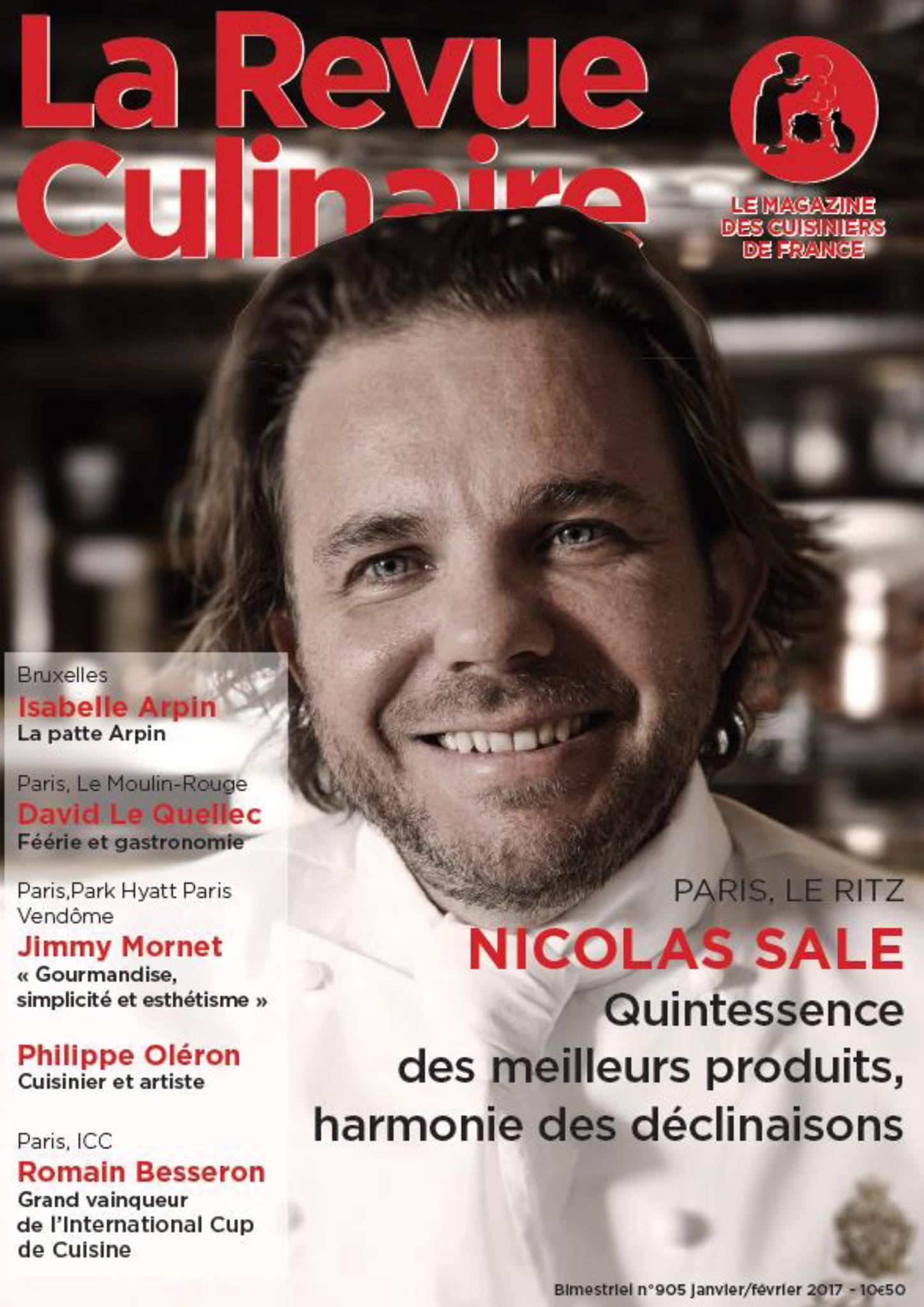 La Revue Culinaire, Nicolas Sale