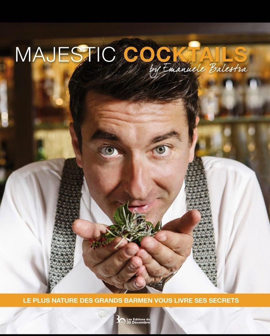 Portrait pour la couverture du livre , Majestic Cocktails by Emanuele Balestra, Majestic Cannes, groupe Barriere, ©Alban Couturier