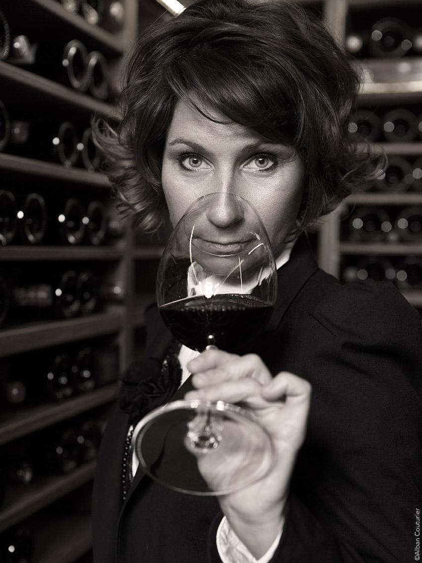 Estelle Touzet, chef sommeliere du ritz Paris ©Alban Couturier