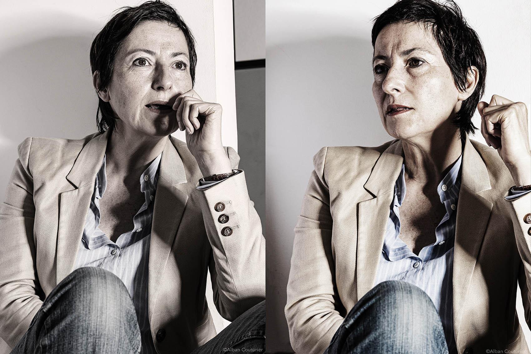 Double portrait, Sophie Le bouleise, Commissariat a la Gastronomie-  Commissaire Generale -Fete de la Gastronomie -Ministere Economie et Comptes publics ©Alban Couturier