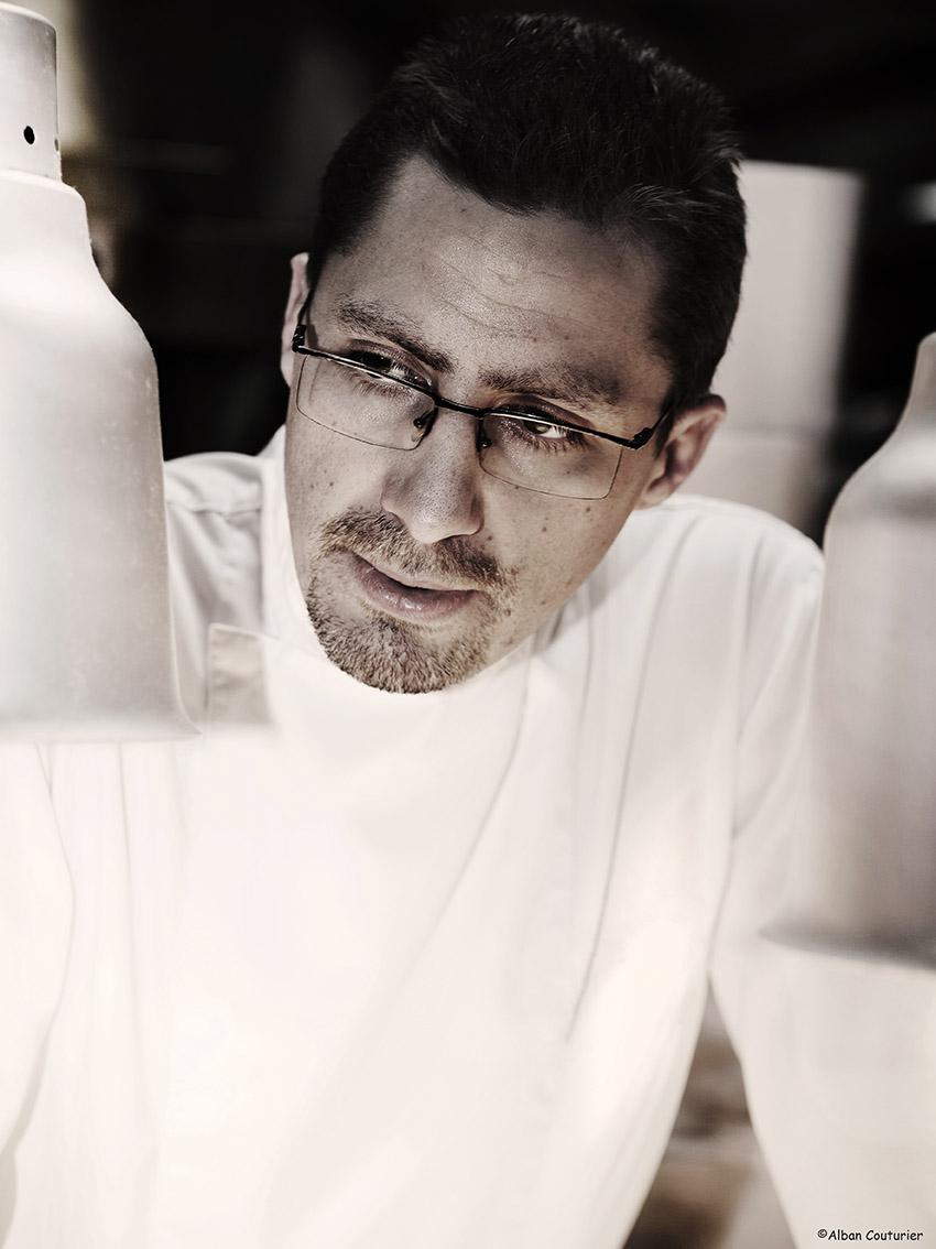 Portrait du Chef et ami Julien Roucheteau, MOF 2019, @Alban Couturier