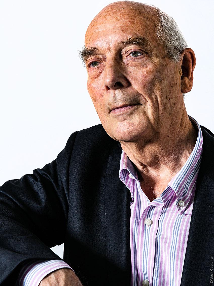Portrait Gerard Goullencourt, Ex directeur Asie du Sud Est, Laboratoire SERVIER, ©Alban Couturier