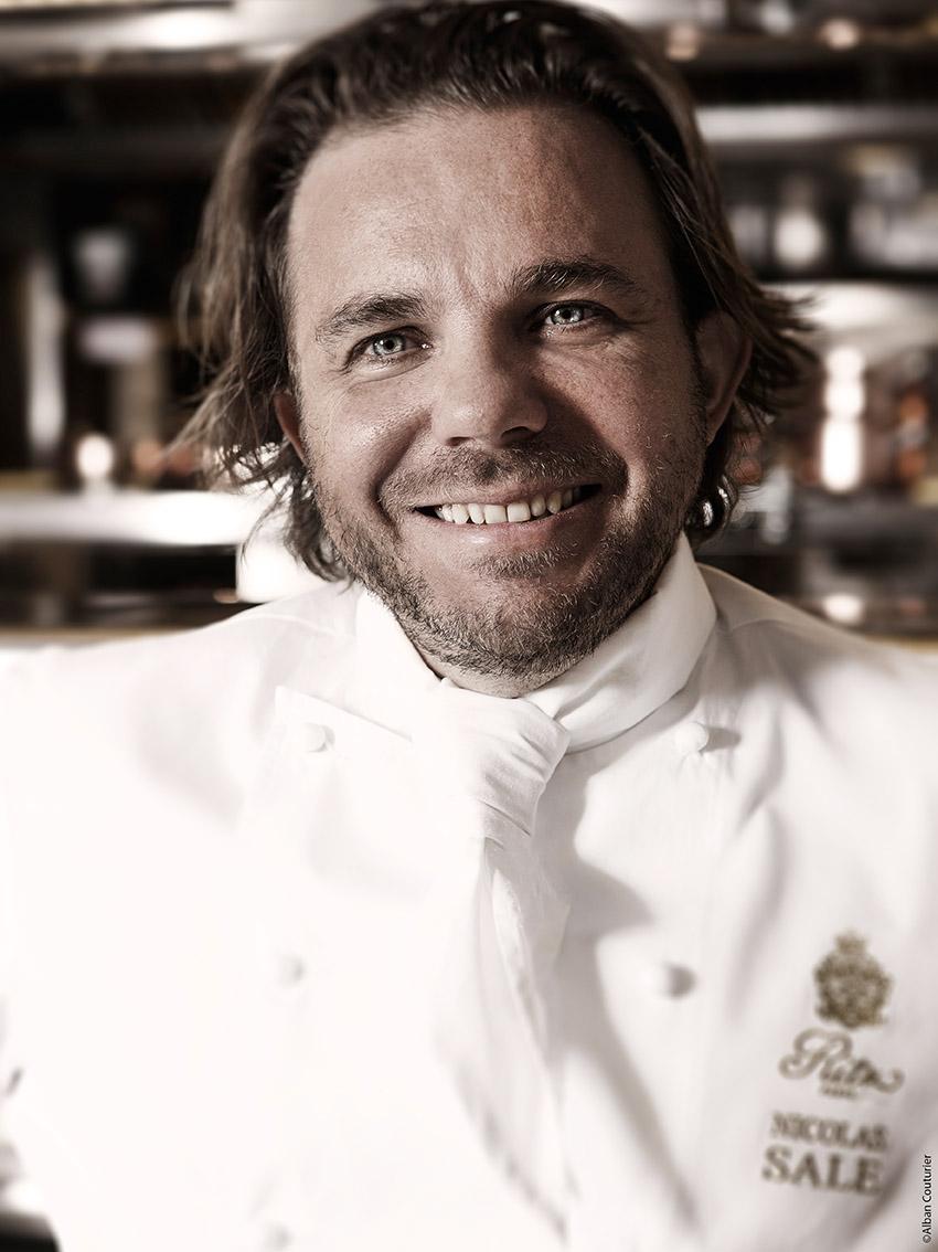 Nicolas sale, chef executif, Le Ritz Paris ©Alban Couturier